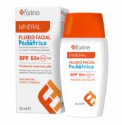 Farline Fluido Facial Solar SPF 50+ Pediátrico