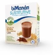 BiManán Sustitutive Batido Quinoa,Trigo, Sarraceno y Cacao (5 sobres)