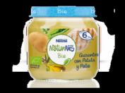 Nestlé NaturNes Bio Puré de Guisantes, Patata y Pollo 6 meses (200 g)