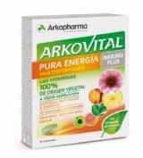Pack DUPLO Arkovital Pura Energía (30 comprimidos)Arkovital Pura Energía Inmunoplus (30 comprimidos)
