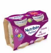 Nutribén Potito Crema de Verduras +6m (190 g x 2 ud)