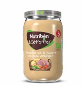 Nutribén Ecopotito Verduras de la huerta con pavo ecológico +6m (235 g)