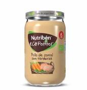 Nutribén Ecopotito Pollo de corral con verduras +6m (235 g)