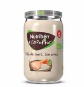 Nutribén Ecopotito Pollo de Corral con arroz +6m (235 g)