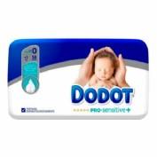 Dodot Pro-Sensitive Recién nacido Talla 0 <3 kg (38 ud)