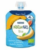 Nestlé NaturNes Bio Bolsita Calabaza, Plátano, Zanahoria +4m (90 g)