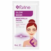 Farline Mascarilla Facial Glow Mask (10 ud)