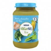 Nestlé NaturNes Bio Tarrito Brócoli y Guisantes con Pavo +6m (190 g)