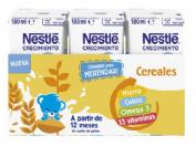 Nestlé Junior Leche de Crecimiento Galleta Maria 1+año (3 ud x 180 ml)