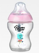 Tommee Tippee Biberón Closer to Nature Rosa (260 ml)
