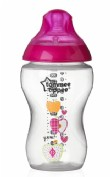Tommee Tippee Biberón Closer to Nature Rosa (340 ml)
