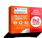 Forté Pharma Energy Multivit Adulto (84 comprimidos)