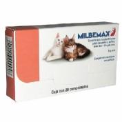 Milbemax Gatos Pequños hasta 2 kg (20 comprimidos)