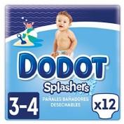 Dodot Splashers Talla 3   6-11k g (12 ud)