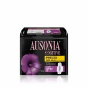 Ausonia sensitive alas super 12 unidades