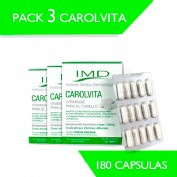 PACK 3 CAROLVITA 180 CAPSULAS