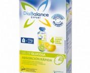 Diabalance expert gel glucosa absorción rápida (4 sobres sabor lima-limón)