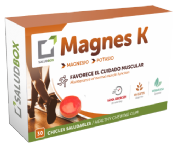 Saludbox Magnes K 30 chicles saludables