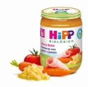 HiPP Menú Bebé: Verduras con Pasta y Jamón +6m (190 g)