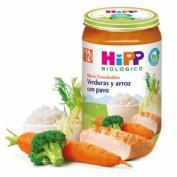 HiPP Menú Grandullón: Verduras y arroz con pavo +12m (250 g)
