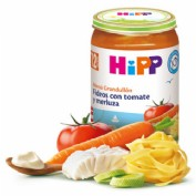 HiPP Menú Grandullón: Fideos en tomate y merluza +12m (250 g)