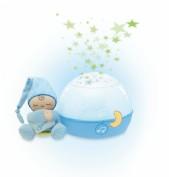 Chicco Proyector de cuna Buenas Noches Estrellitas Azul +0m