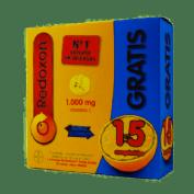 Redoxon Extra Defensas Vit C, D y Zinc (30+15 Comprimidos Efervescentes)