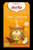 YogiTea Chai Cúrcuma (17 bolsitas)