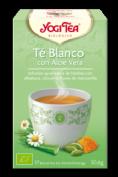 YogiTea té Blanco con Aloe Vera (17 bolsitas)