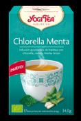 YogiTea Chlorella Menta (17 bolsitas)