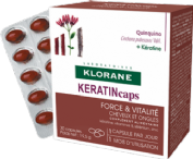 Klorane keratincaps 30 cápsulas