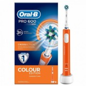 Oral-B PRO 600 CrossAction Con Tecnología Braun (color Naranja)