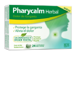 Pharycalm herbal dolor de garganta 24 comprimidos