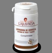 Ana María LaJusticia Levadura de Cerveza con Germen de Trigo y Tiamina 80 comprimidos