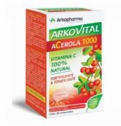 Arkovital Acerola 1000 fuente de Vitamina C (30 comprimidos)