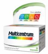 Multicentrum Adutos y adolescentes (30 comprimidos)