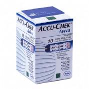 Accu-Chek Aviva Tiras Reactivas de Glucemia (10 ud)