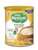 Nestlé Nestum Papilla 8 Cereales con Galleta (650 g)