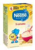Nestlé Papilla 5 Cereales (600 g)