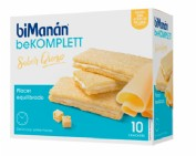 BiManán BeKomplett Crackers Sabor Queso (10 ud)