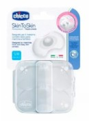 Chicco Protegepezón SkintoSkin de silicona extra fina S/M (2 ud)
