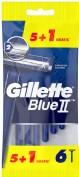 Gillette Maquinillas Blue II (5 ud + Gratis 1 ud)