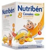Nutribén® 8 Cereales con un toque de miel 4 Frutas