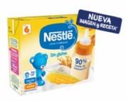 Nestle Leche y cereales para lactantes sin gluten (brick 250 ml x 2 ud)