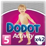 Dodot Activity Talla 5 11-17 kg (42 ud)