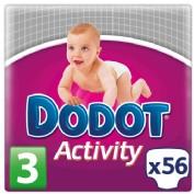 Dodot Activity Talla 3 6-10 kg (56 ud)