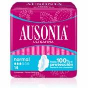Ausonia Compresas con Alas Normal (14 ud)