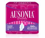 Ausonia Compresas Super con Alas (12 ud)