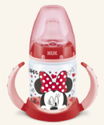 NUK Biberón Entrena Mickey / Minnie Silicona FC PP (150 ml)