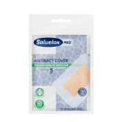 Salvelox Med Antibact Cover Apósitos Adhesivos - 76 mm x 54 mm (5 ud)
